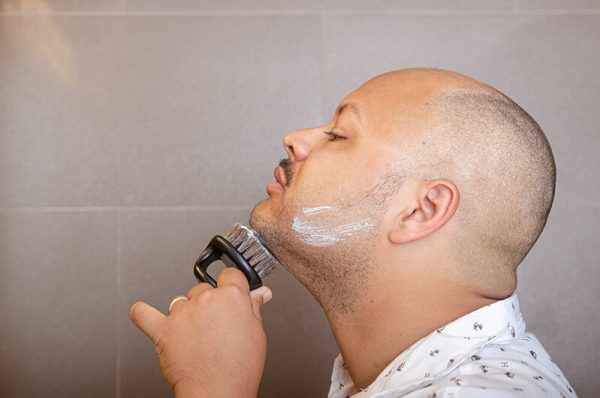 Beard brushes aren't just about aesthetic. But ShaveAware's routine helps you look sharp.