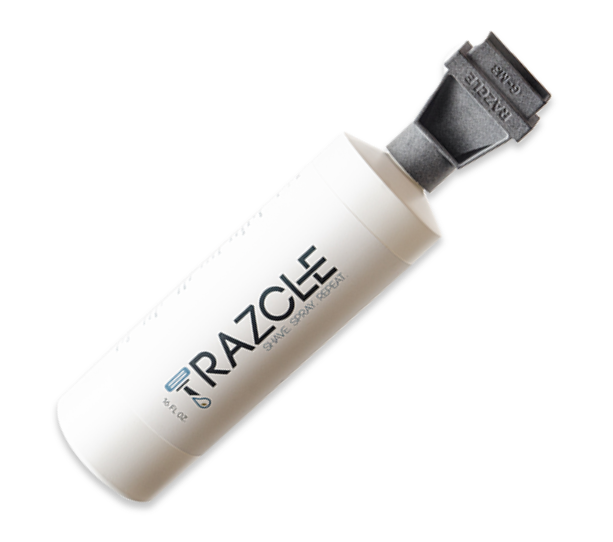 ShaveAware RAZCLE bottle
